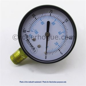 0-60PSI 2.5'' MANOMETER