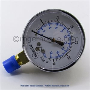 0-200''WC 2.5'' MANOMETER