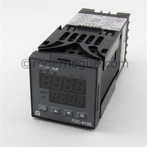 CONTRÔLE DE TEMPÉRATURE 90-250VAC SORTIE 0-10VDC + SORTIE SPST 2A
