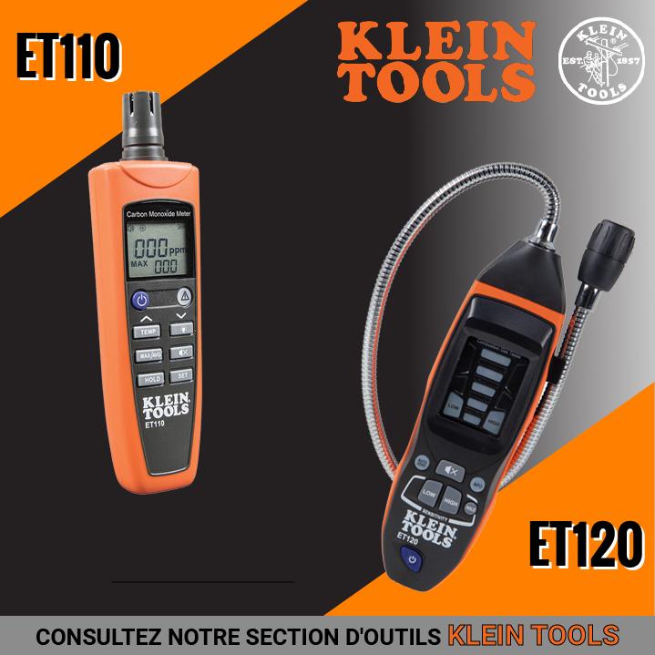 Nous sommes dépositaires des outils Klein Tools